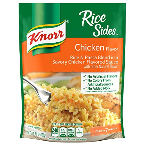 Easy Chicken Rice Soup (Knorr Rice Side Dish, Chicken, 5.6 oz)
