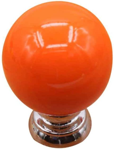 Xrlwood Los Mangos Forma de la Bola de Dibujos Animados Cerámica Ronda Tire de Las perillas de gabinete de Cocina Armario Armario Armario del cajón: Amazon.es: Hogar