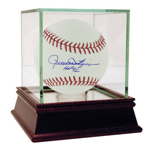 Rollie Fingers Autographed Official Major League Baseball w/ HOF 92 Insc. - Certified Authentic Autograph Rollie Fingers Autographed Baseball