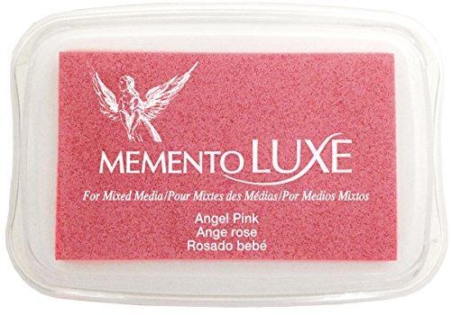 Tsukineko Memento Luxe Mixed Media Inkpad, Angel Pink