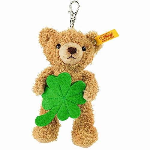 - Steiff Lucky Charm Teddy Bear Plush Animal Toy, Golden Brown