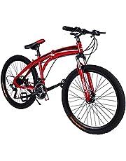 Fitness Minutes Folding Bike, Red, FM-F26-02S-RD
