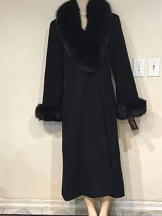 buy popular temperament shoes free shipping Amazon.com: Marvin Richards Women's Winter Black Fox Fur ...