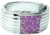 Linda Fashion Jeweled Bracelet, Silver, Small, 12 Count