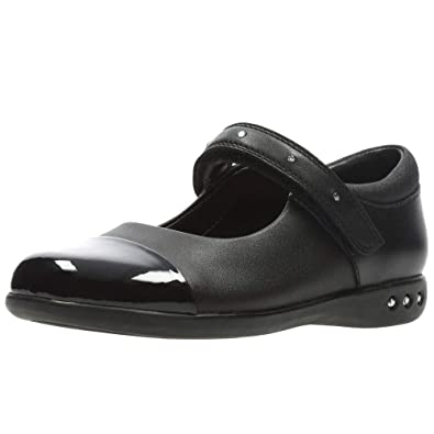 672f649f8a4 Clarks Prime Walk Girls Infant Mary Jane School Shoes  Amazon.co.uk  Shoes    Bags
