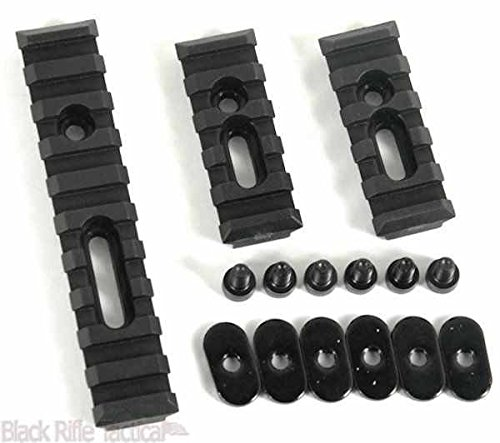 Ar 15 Rail Guards (Fast Dealz Slotted Polymer Picatinny Rail Set For MOE Handguards)