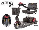 Golden Technologies - Buzzaround XLS HD - Travel Scooter - 3-wheel - Red