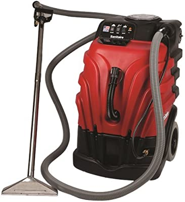 SANITAIRE GIDDS2-2464776 Carpet Extractor with Heater 12 Amp Commercial Motor 10.0 gallon Tank