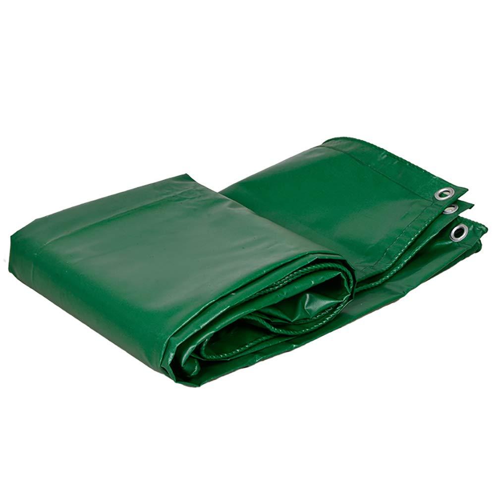 Z&YY Starke grüne Wasserdichte Plane Schuppen Tuch Sonnencreme DREI Anti-Tuch PVC Plane Leinwand Wachstuch für LKW Stiefel Pier 450G   M²