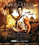 The Librarian Trilogy - 3-Disc Set ( The Librarian: Quest for the Spear / The Librarian: Return to King Solomon's Mines / The Librarian: The Curse of the Ju] [Region Free]