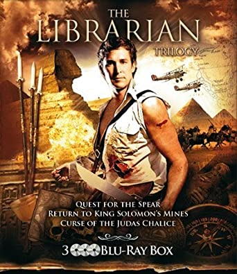 Amazon com: The Librarian Trilogy - 3-Disc Set ( The