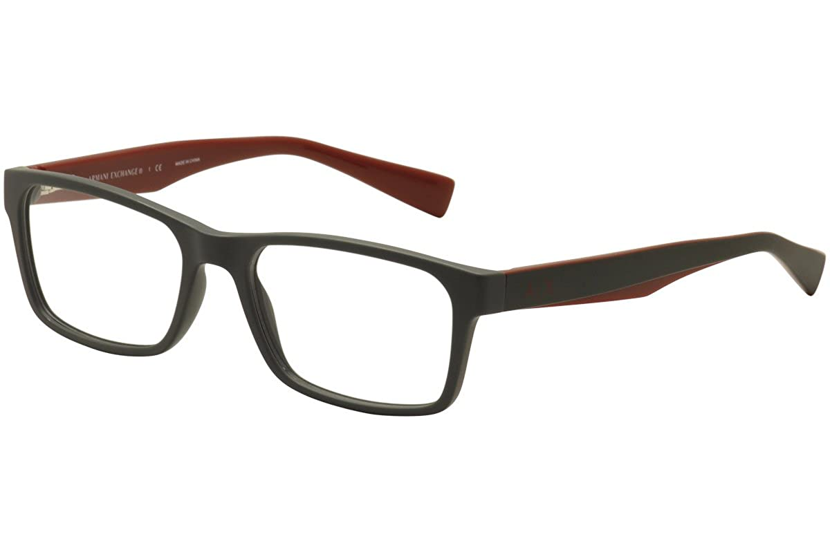 093177b8b8f5 Armani Exchange AX3038 Eyeglass Frames 8200-54 - Matte Smoked Pearl   Amazon.ca  Clothing   Accessories