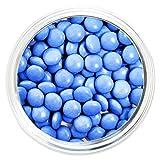 Candy Coated Chocolate Gems - Powder Blue (2.5 lb bag)