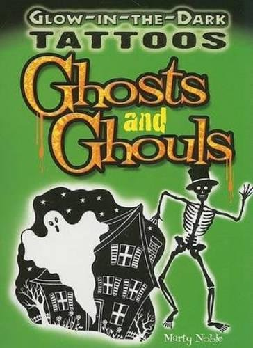 Halloween Stencils Ghost (Glow-in-the-Dark Tattoos Ghosts and Ghouls (Dover)