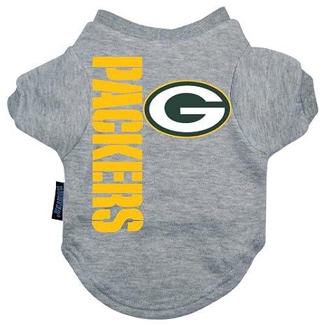c1553087b30 Amazon.com : Hunter MFG Green Bay Packers Dog Tee, X-Large : Pet Shirts : Pet  Supplies