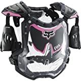Fox Racing Youth Girl's R3 Roost Deflector - Small/Black/Pink
