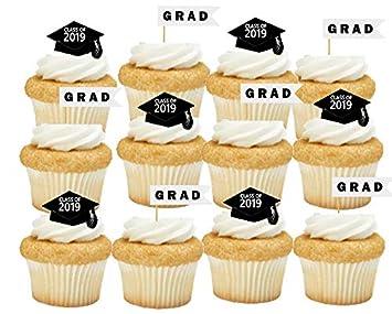 Graduation Cake Kit Cupcake Party Supplies Decoration Toppers Graduation Cupcake Decoration