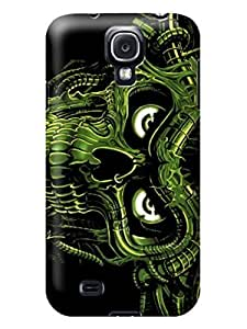 LarryToliver Migreat Gear Design Customizable fashion skull pictures Logo samsung Galaxy s4 Plastic Hard Cover Case #1