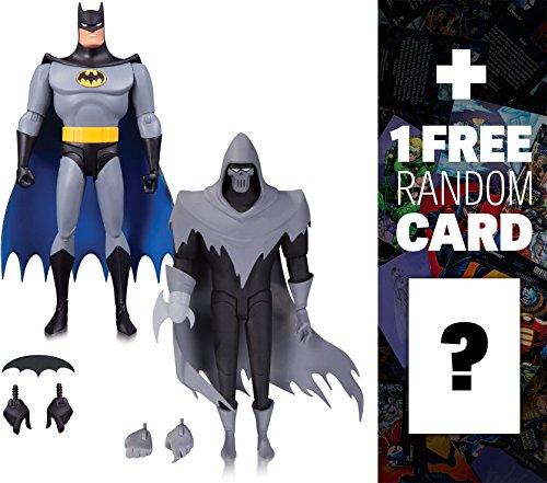 "Batman & the Phantasm: ~6"" DC Collectibles Batman - Mask of the Phantasm Action Figure + 1 FREE Official DC Trading Card Bundle (26443)"