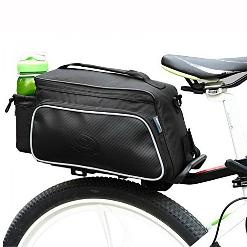 - Ezyoutdoor Mountain Road MTB Bicycle Pannier Bags with Rain Cover Bike Rear Seat Bag Luggage Pack Bag DXP Bicycle Trunk Bag