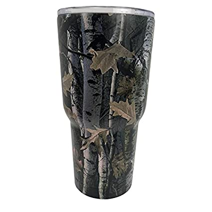 4edeb8bd40c Image Unavailable. Image not available for. Color: Quench 30oz Stainless  Steel Vacuum-Insulated Tumbler (Birch Camo)