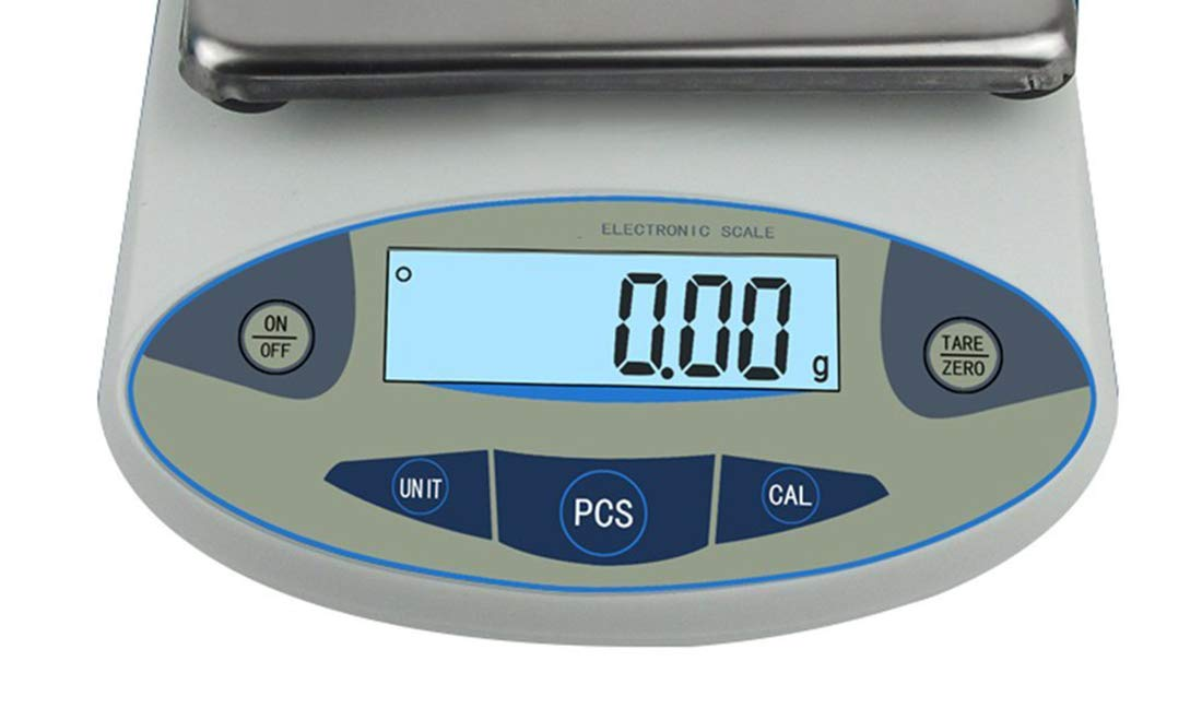 ,200g//0.01 LWKBE High Precision Digital Lab Scale Accurate Analytical Electronic Balance Laboratory Industrial Weighing Scale with Counting Function 5000g, 0.01g