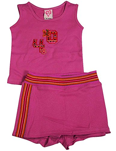 Lipstik - Baby Baby Girls 2-Piece Skort Set, Dusty Pink 3641-6-12Months