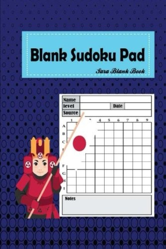Read Online Blank Sudoku Pad: 101 Puzzle Book Game 9 x 9 Grids Large Print . Ideal for when you have made a mistake on a Sudoku puzzle and need to transfer it ... again. (Samurai Sudoku Puzzles) (Volume 2) PDF