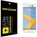 Time 2 Guard Ultra Clear Plastic Screen Protector For HTC 10
