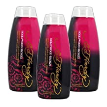 Lot 3 Ed Hardy Hollywood Bronze Indoor Tanning Lotion Accelerator Bronzer Dark by Ed Hardy