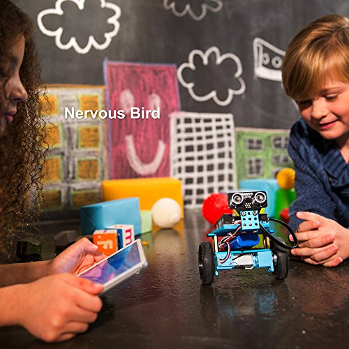 Makeblock Programmable mBot Ranger Robot Kit, STEM Educational Engineering Design & Build 3 in 1 Programmable Robotic System Kit - Ages 10+ by Makeblock (Image #3)