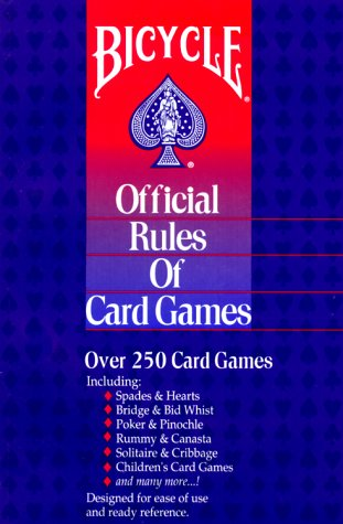 Bicycle Official Rules of Card Games (Best Easy Card Games)