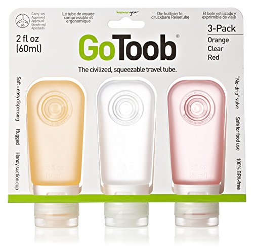 humangear-gotoob-3-pack-medium-2oz-clear-orange-red
