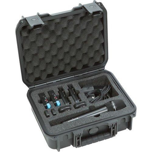 SKB iSeries 3I-1209-4-BH2 Waterproof Case for Sennheiser AVX Wireless Mic Systems