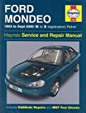 Ford Mondeo Service and Repair Manual: 1993 to Sept 2000 (K to X Reg) (Haynes Service and Repair Manuals) by Churchill, Jeremy, Legg, A. K., Jex, R. M. 4th (fourth) Revised Edition (2003)