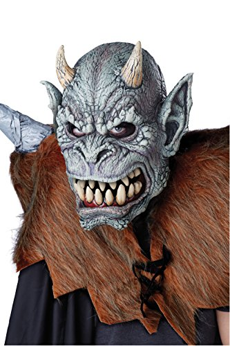 California Costumes Men's Gargoyle's Awakening Ani-Motion Mask, Multi, One (Gargoyle Costumes)