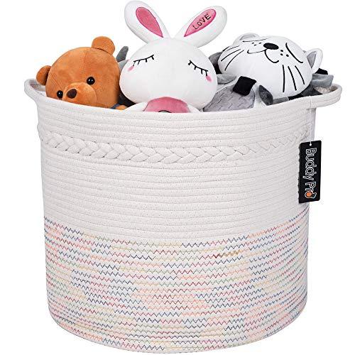 Baby Toy Basket,Laundry Basket,Blanket Basket 17