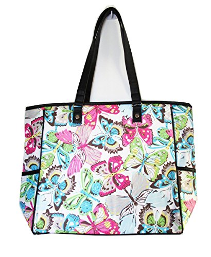 No Logo LARGE Cindy Tote shouder Bag in Butterfly - Cindy Tote