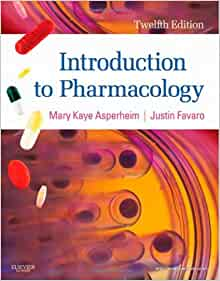 Introduction to pharmacology 12th edition 9781437717068 introduction to pharmacology 12th edition 9781437717068 medicine health science books amazon fandeluxe Images