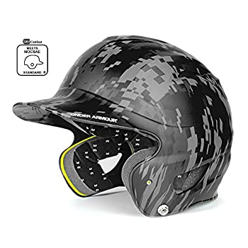 Under Armour Matte Digi-camo Uabh-100mc Baseball Batting Helmet 0
