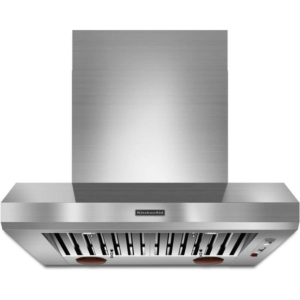 Kitchenaid KXW9736YSS 36-Inch Commercial-Style Series Wall-Mount Canopy Hood
