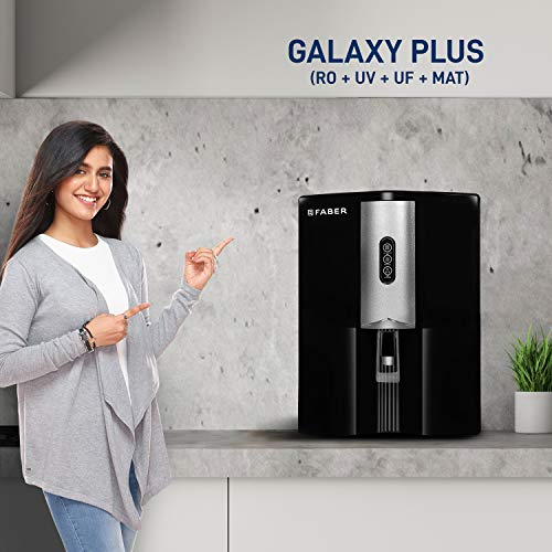 Faber Galaxy Plus RO+UV+UF+MAT , Mineral Water Purifier (9 Liters)