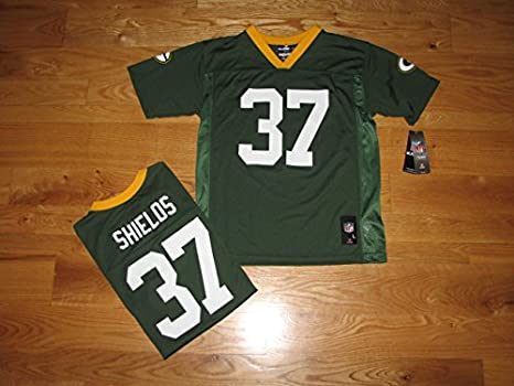 online store b5260 573f3 Amazon.com : NEW Green Bay Packers SAM SHIELDS Green Home ...