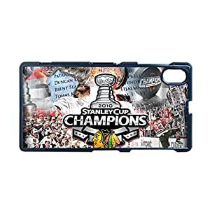 Generic Silica Cute Phone Cases For Girly Printing With Chicago Blackhawks 1 For Sony Xperia Z1 L39H Choose Design 3