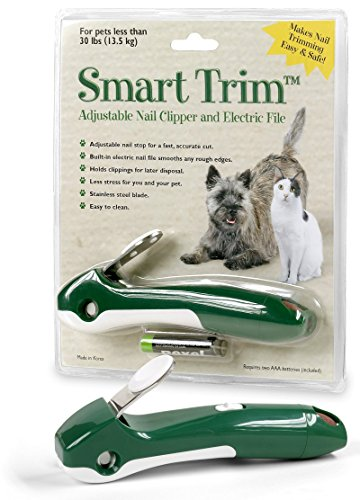 Smart Trim Adjustable Nail Clipper and Electric File.