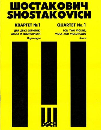 Download String Quartet No. 1. Op. 49. Score. PDF