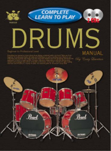 CP69258 - Progressive Complete Learn To Play Drums Manual