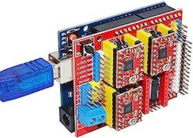 Amazon.com: gowoops CNC Grabador Shield Expansion Board + ...