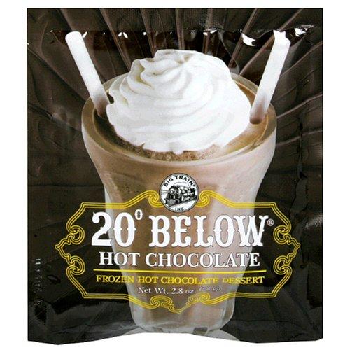 Big Train 20 Below Frozen Hot Chocolate Dessert 28Ounce Bags Pack of 25