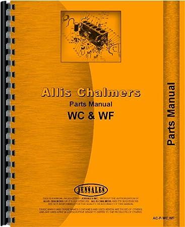 Amazon Allis Chalmers Parts Manual Ac P Wcwf Home Improvement
